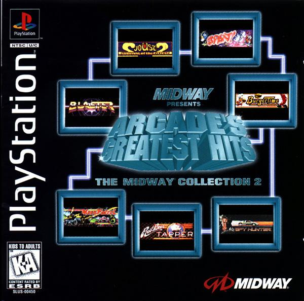 Arcade's Greatest Hits - The Midway Collection 2 [U] [SLUS-00450] front cover