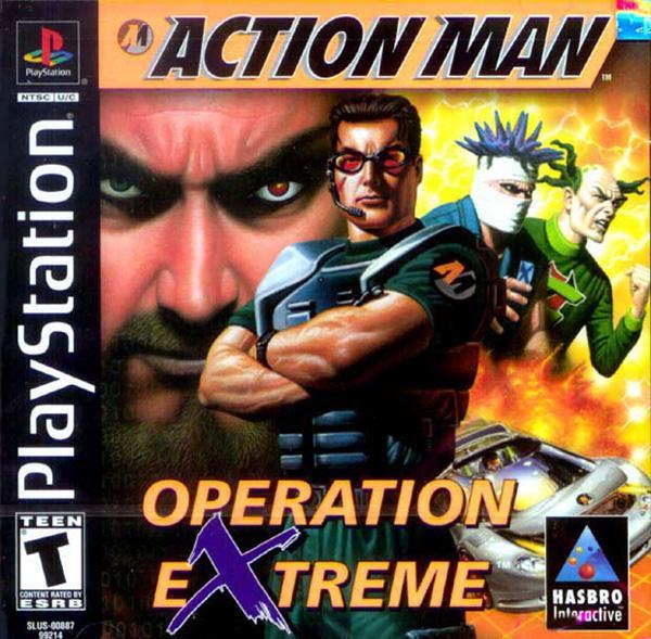 Action Man - Operation Extreme [U] [SLUS-00887] front cover
