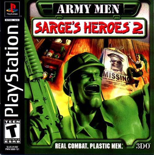 Army Men - Sarge's Heroes 2 [U] [SLUS-01202] front cover