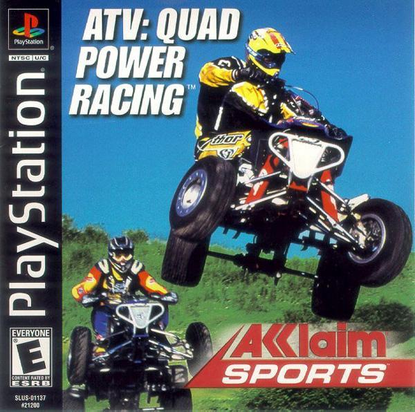 ATV - Quad Power Racing [U] [SLUS-01137] front cover