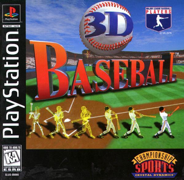 3D Baseball [U] [SLUS-00066] front cover