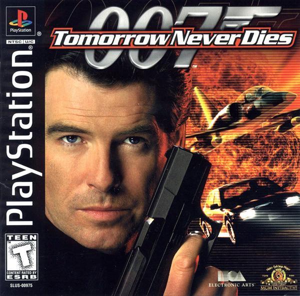 007 - Tomorrow Never Dies [U] [SLUS-00975] front cover
