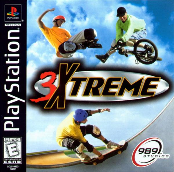 3Xtreme [U] [SCUS-94231] front cover