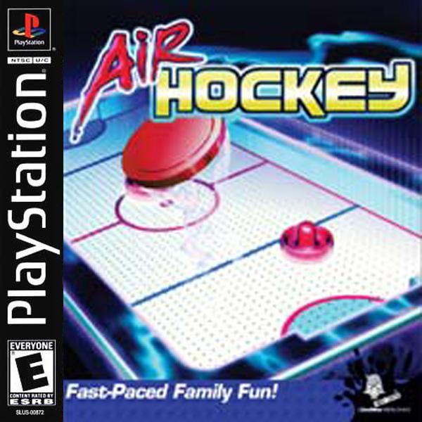 Air Hockey [U] [SLUS-01467] front cover