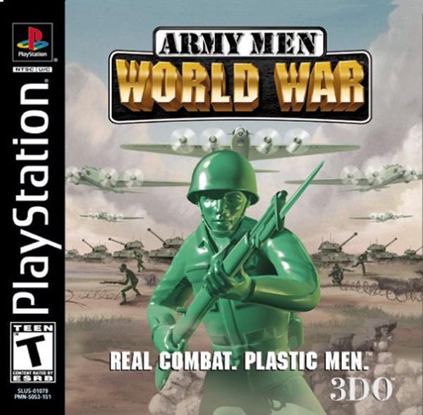 Army Men - World War [U] [SLUS-01079] front cover
