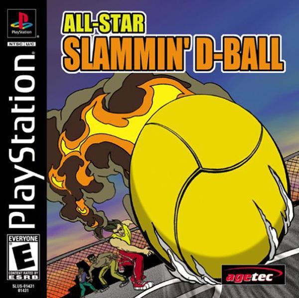 All-Star Slammin' Dodgeball [U] [SLUS-01431] front cover
