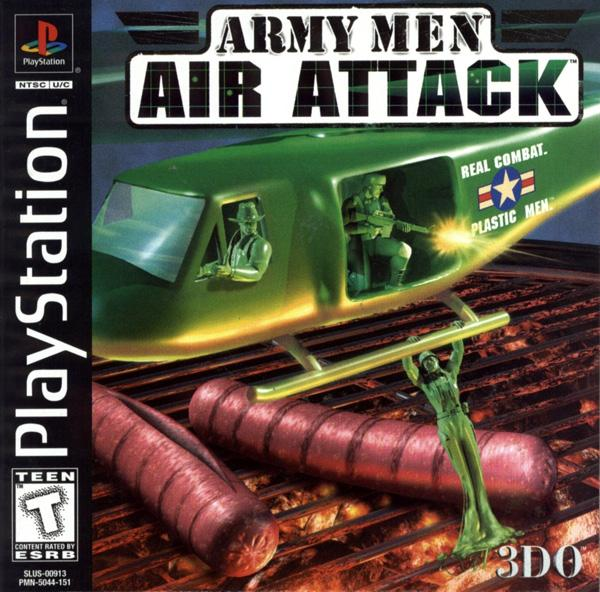 Army Men - Air Attack [U] [SLUS-00913] front cover