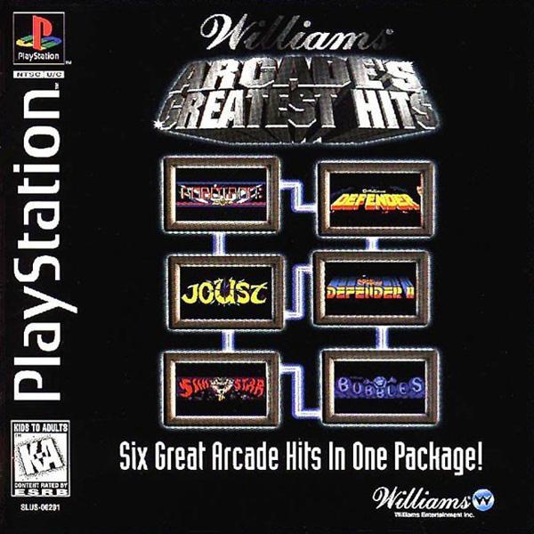 Arcade's Greatest Hits - Williams [U] [SLUS-00201] front cover