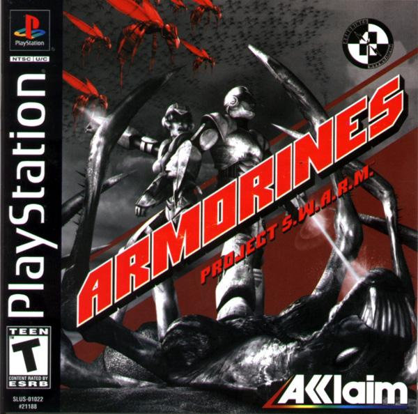 Armorines - Project Swarm [U] [SLUS-01022] front cover