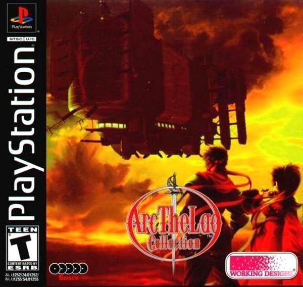 Arc the Lad - Monster Tournament - Battle Arena [U] [SLUS-01255] front cover