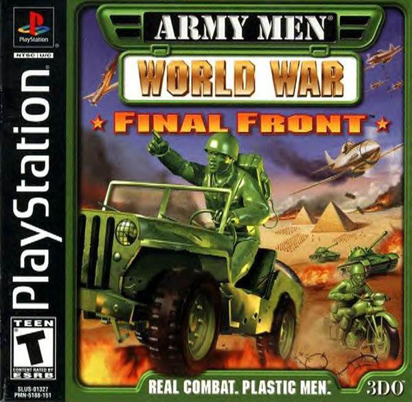 Army Men - World War - Final Front [U] [SLUS-01327] front cover