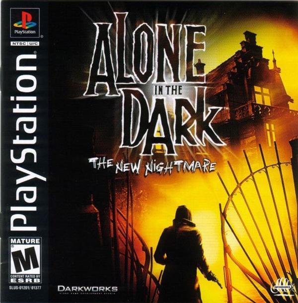 Alone In The Dark - The New Nightmare [Disc2of2] [U] [SLUS-01377] front cover