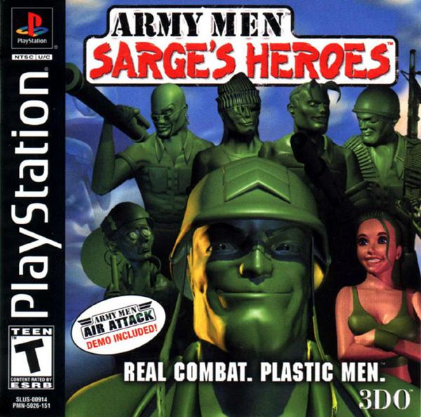 Army Men - Sarge's Heroes [U] [SLUS-00914] front cover