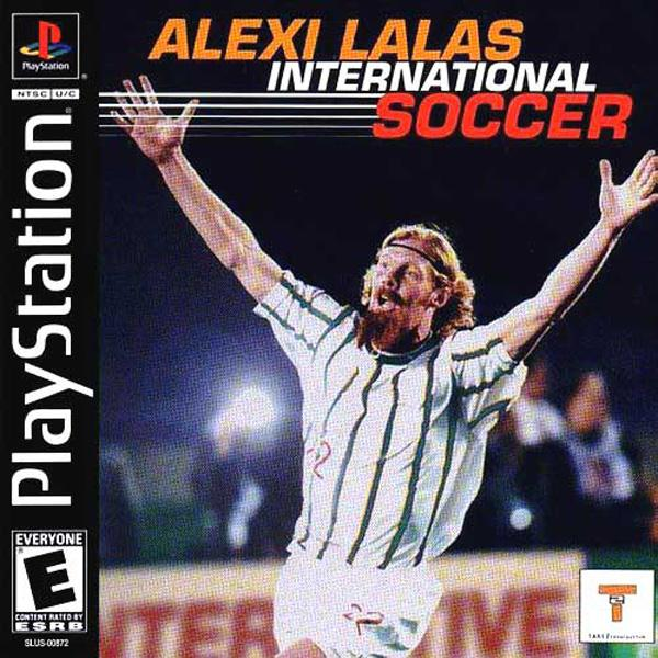 Alexi Lalas International Soccer [U] [SLUS-00872] front cover