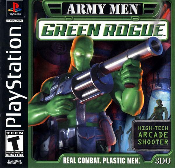 Army Men - Green Rogue [U] [SLUS-01330] front cover