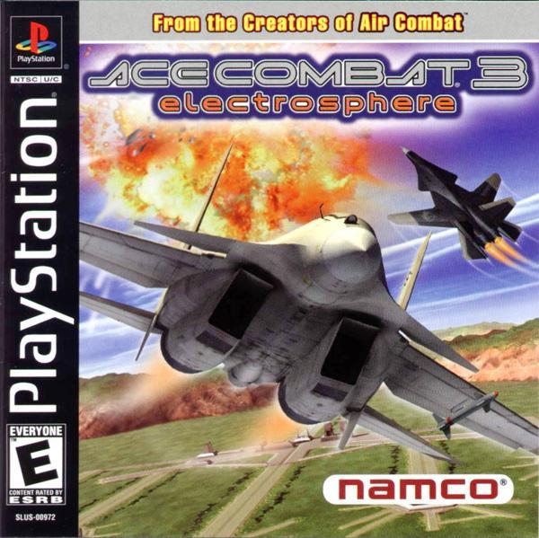 Ace Combat 3 - Electrosphere [U] [SLUS-00972] front cover