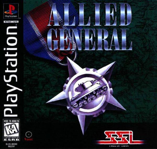 Allied General [U] [SLUS-00303] front cover
