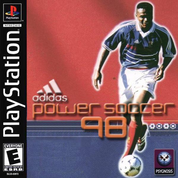 Adidas Power Soccer '98 [U] [SLUS-00547] front cover