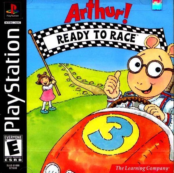 Arthur! Ready to Race [U] [SLUS-01090] front cover
