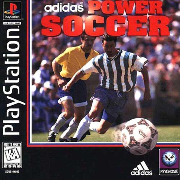 Adidas Power Soccer [U] [SCUS-94502] front cover
