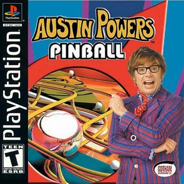 Austin Powers Pinball [U] [SLUS-01456] front cover