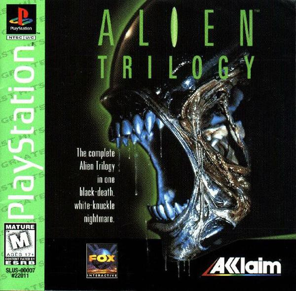 Alien Trilogy [U] [SLUS-00007] front cover