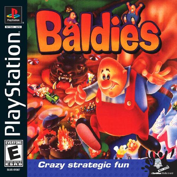 Baldies [U] [SLUS-01567] front cover