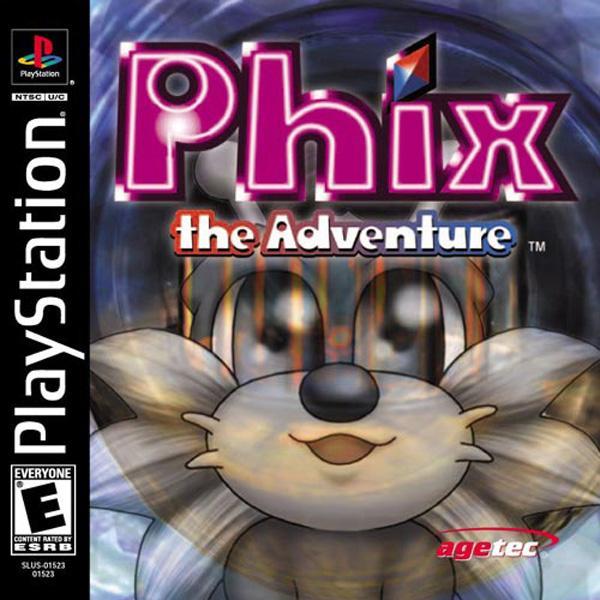 Adventure of Phix [U] [SLUS-01523] front cover
