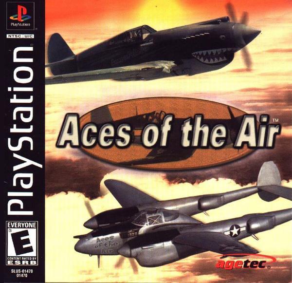 Aces of the Air [U] [SLUS-01470] front cover