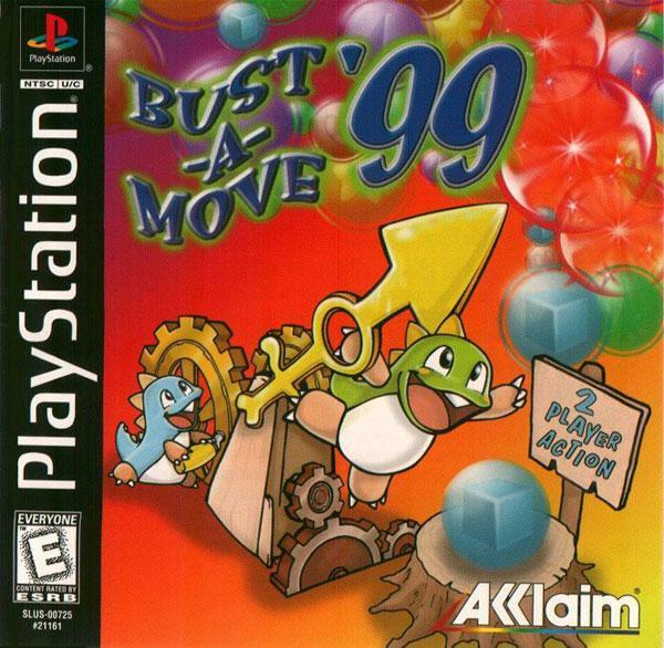 Bust-a-Move '99 [U] [SLUS-00725] front cover