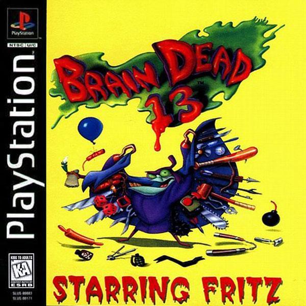 Brain Dead 13 [Disc1of2] [U] [SLUS-00083] front cover