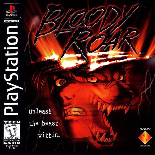 Bloody Roar [U] [SCUS-94199] front cover