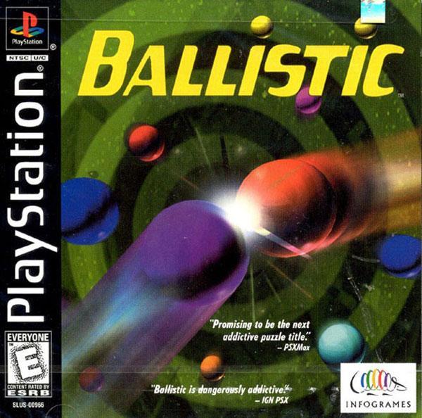 Ballistic [U] [SLUS-00966] front cover