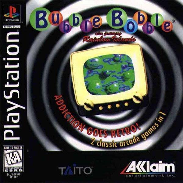 Bubble Bobble - featuring Rainbow Islands [U] [SLUS-00370] front cover