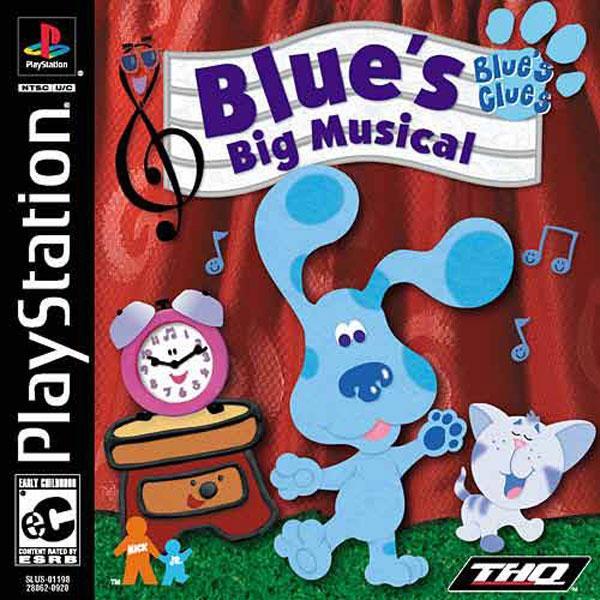 Blue's Clues - Blue's Big Musical [U] [SLUS-01198] front cover