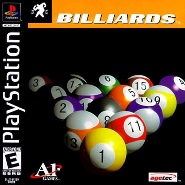 Billiards [U] [SLUS-01289] front cover