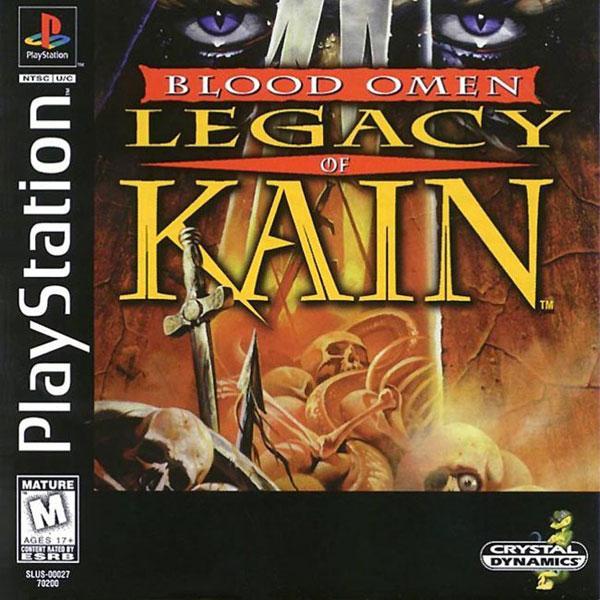 Blood Omen - Legacy of Kain [U] [SLUS-00027] front cover