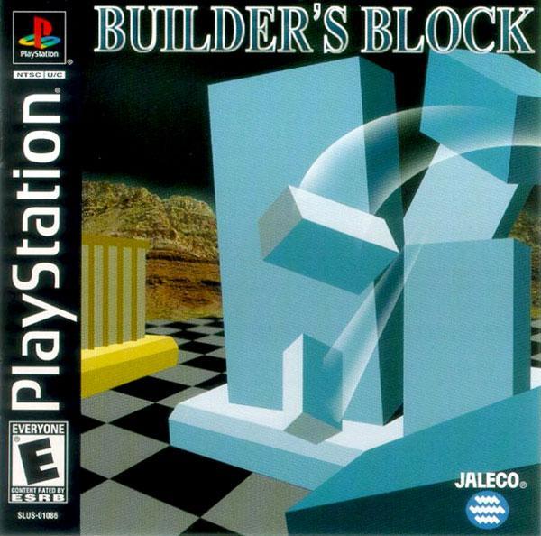 Builder's Block [U] [SLUS-01086] front cover