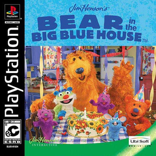 Bear in the Big Blue House [U] [SLUS-01524] front cover