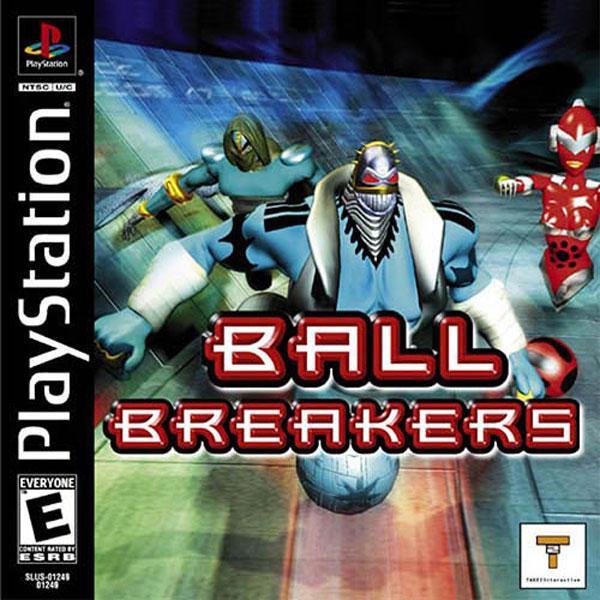 Ball Breakers [U] [SLUS-01249] front cover