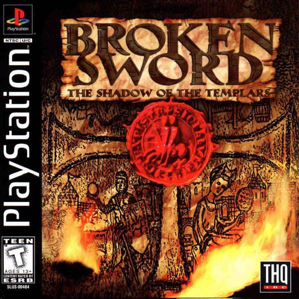 Broken Sword - The Shadow of The Templars [U] [SLUS-00484] front cover