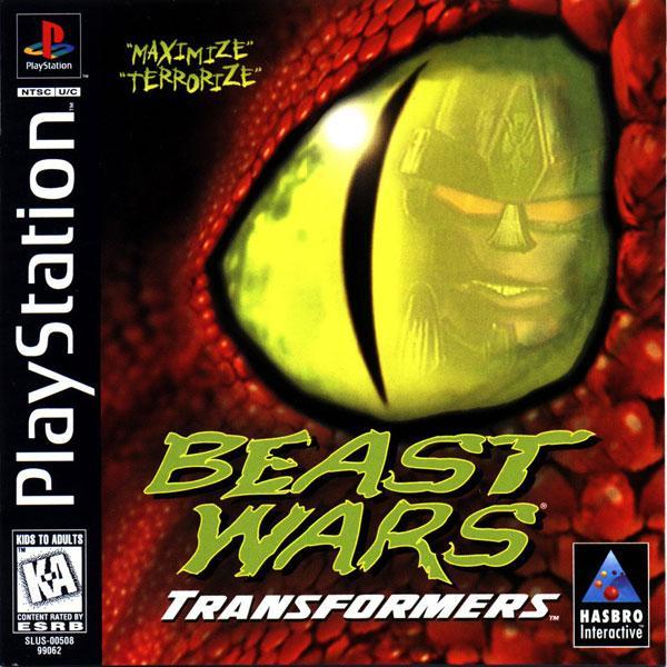 Beast Wars - Transformers [U] [SLUS-00508] front cover