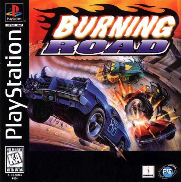 Burning Road [U] [SLUS-00324] front cover