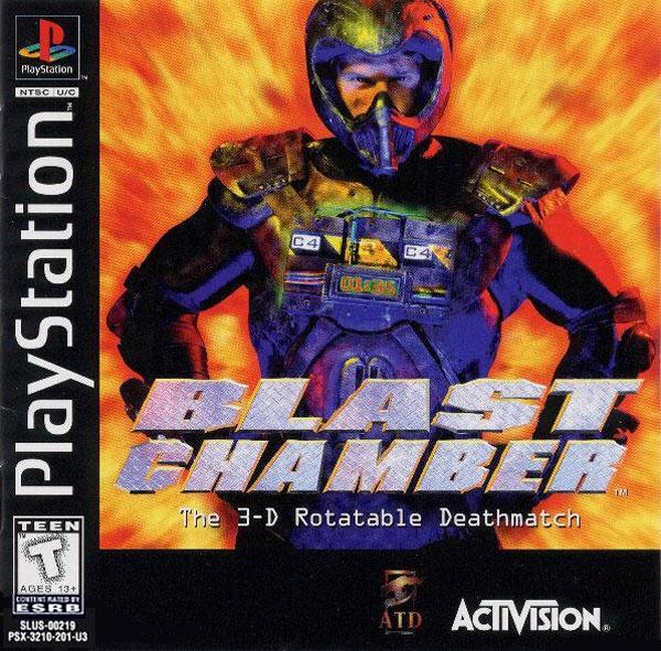 Blast Chamber [U] [SLUS-00219] front cover