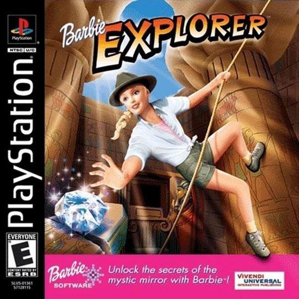 Barbie Explorer [U] [SLUS-01361] front cover