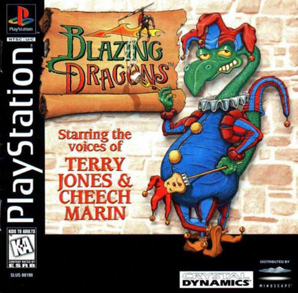 Blazing Dragons [U] [SLUS-00100] front cover