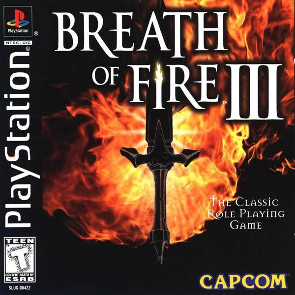 Breath of Fire III [U] [SLUS-00422] front cover