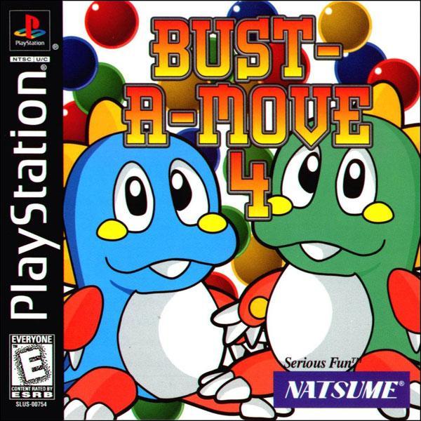 Bust-a-Move 4 [U] [SLUS-00754] front cover