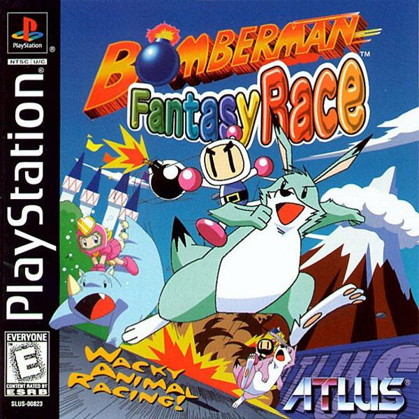 Bomberman Fantasy Race [U] [SLUS-00823] front cover