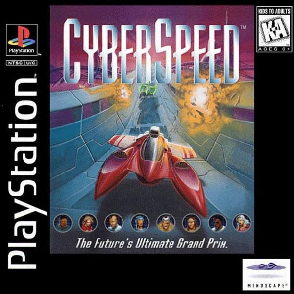 Cyber Speed [U] [SLUS-00116] front cover